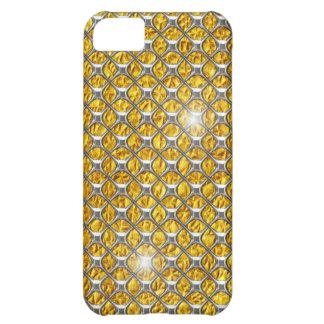 iPhone 5 case Chrome Gold Shiny Bling