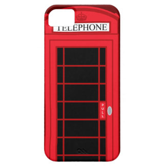 iPhone 5 Case Classic Red Public Telephone Box UK