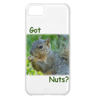 """iPhone 5 Case Cover - Squirrel """"Got Nuts?"""""""