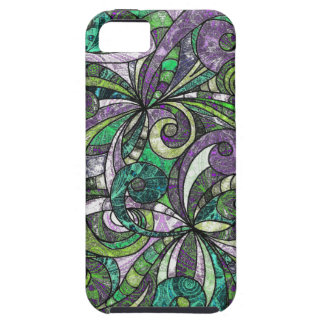 iPhone 5 Case Drawing Floral