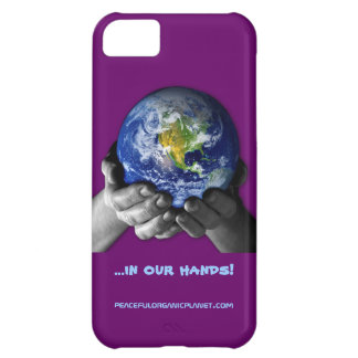 iPHONE 5 CASE -EARTH HANDS