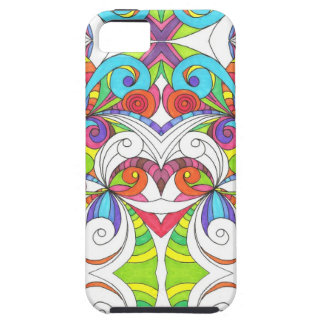 iPhone 5 Case Floral abstract background