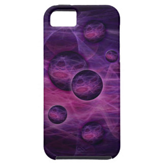 iPhone 5 Case  fractal art black and pink