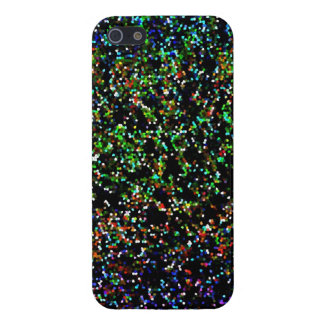 iPhone 5 Case Glitter Graphic Background