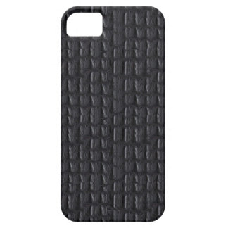 iPhone 5 Case Grey Gray Leather Look