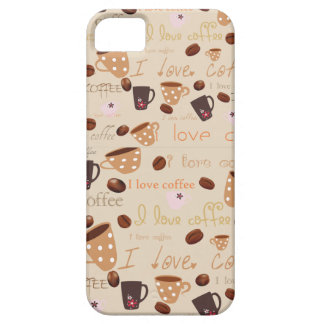 "Iphone 5 Case ""I love coffee"""