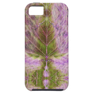 iPhone 5 Case leaf drawing