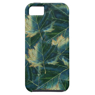 iPhone 5 Case leaves drawing