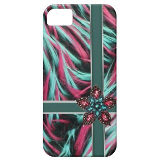 iPhone 5 Case-Mate Barley There faux fur