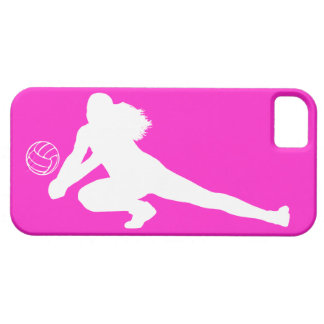 iPhone 5 Case-Mate Dig Silhouette White on Pink iPhone 5 Cover