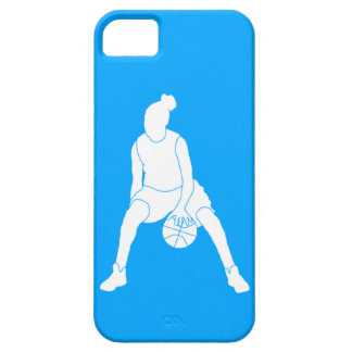 iPhone 5 Case-Mate Dribble Silhouette White/Blue Barely There iPhone 5 Case