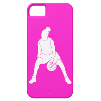 iPhone 5 Case-Mate Dribble Silhouette White/Pink iPhone 5 Case