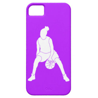 iPhone 5 Case-Mate Dribble Silhouette White/Purple iPhone 5 Cover
