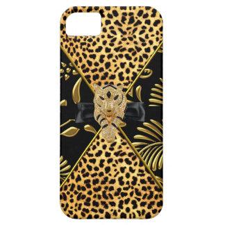 iPhone 5 Case-Mate Gold Black Leopard