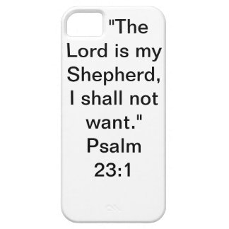 iPhone 5 Case-Mate With Psalm 23