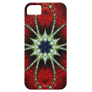 Iphone 5 case Red Fractal iPhone 5 Covers