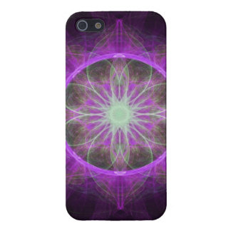 iPhone 5 Case Savvy fractal art black and pink