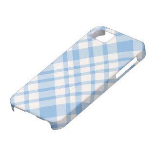 iPhone 5 Case - Solid Plaid - SeaSalt