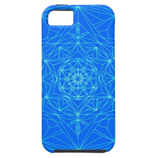 iPhone 5 Case star abstract mandala