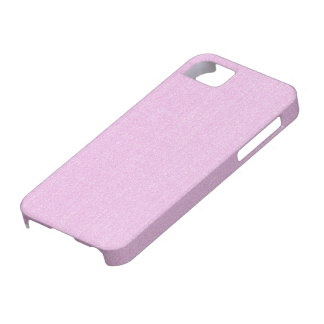 iPhone 5 Case - Textured Solid - Light Pink