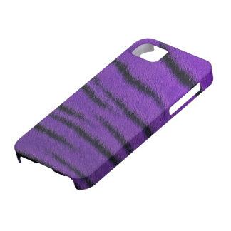 iPhone 5 Case - Tiger Fur - Purple