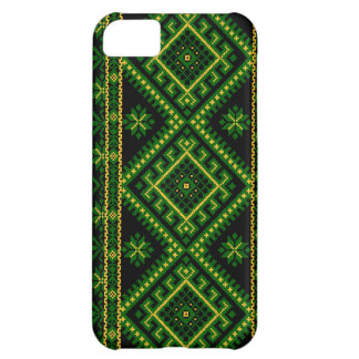 iPhone 5 Case Ukrainian Cross Stitch Print