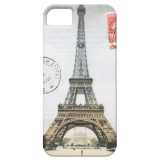 iPhone 5 case- Vintage Eiffel Tower Barely There iPhone 5 Case