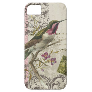 iPhone 5 case-Vintage Hummingbird Barely There iPhone 5 Case