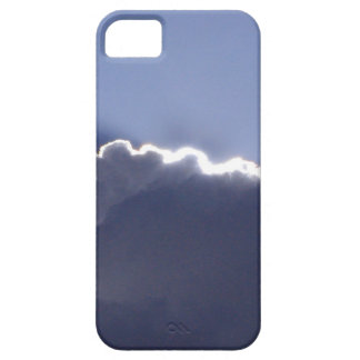 iPhone 5 case with photo of cloud with silver lini