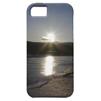 iPhone 5 case with photo of Yukon River