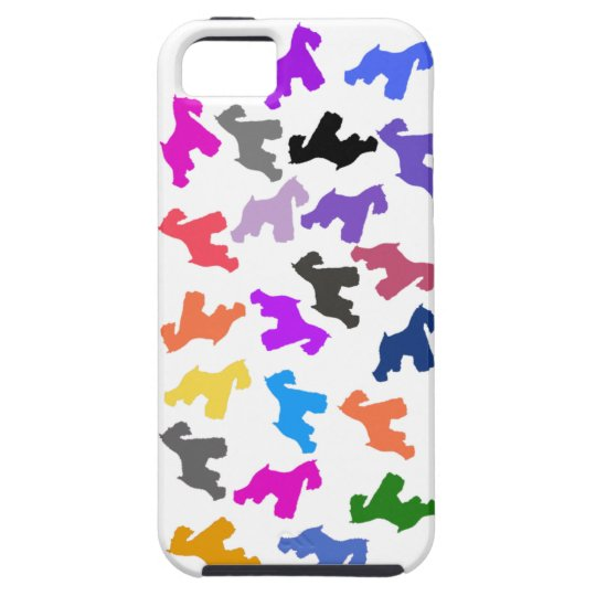 iphone 5 Case with Schnauzer Design