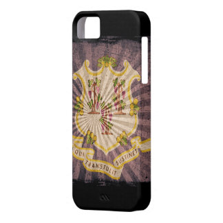 Iphone 5 Case with state flag of Connecticut