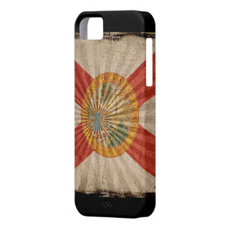 Iphone 5 Case with state flag of Florida