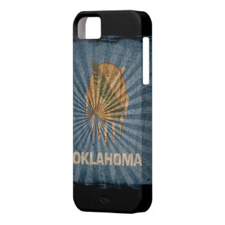 Iphone 5 Case with state flag of Oklahoma