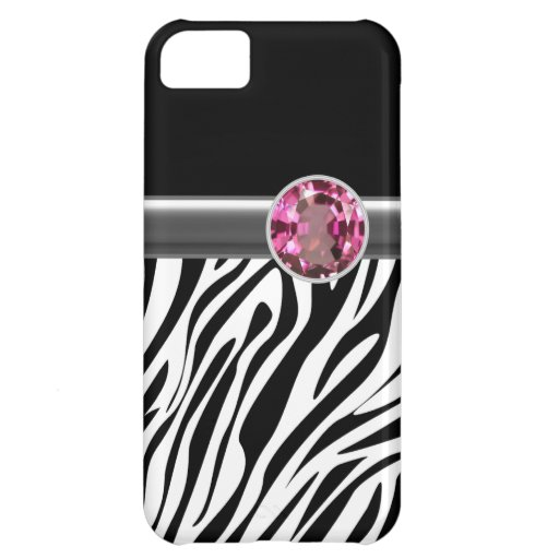 iPhone 5  Case Zebra Bling iPhone 5C Covers