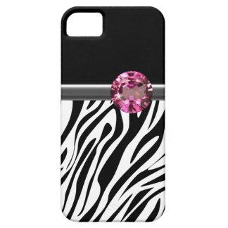 iPhone 5  Case Zebra Bling