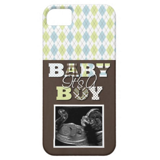 iPhone 5 Cell Phone Case Ultrasound Picture Boy! iPhone 5 Cover