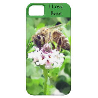 iPhone 5 CM/BT - Honeybee on blossom iPhone 5 Covers