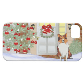 iPhone 5 Doggie Christmas Case iPhone 5 Cases