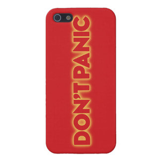 "iPhone 5 ""Don´t Panic"" galaxy travel guide talk Cases For iPhone 5"