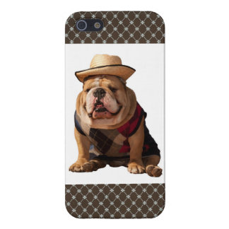 iPhone 5 English Bulldog Puppy Brown Diamond Case iPhone 5 Case