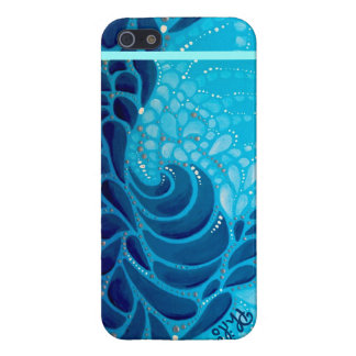 iPhone 5 Glossy Finish Case: Pacific Rush iPhone 5/5S Cover