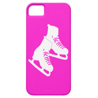 iPhone 5 Ice Skates Pink iPhone 5 Cases