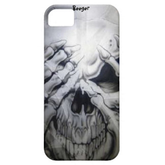 Iphone 5 ID - Peek-a-BOO Skull iPhone 5 Cover