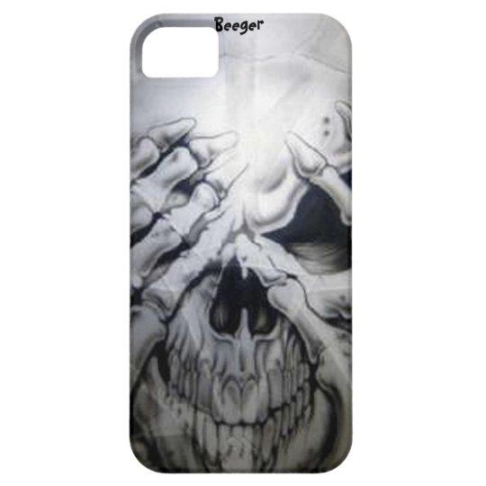 Iphone 5 ID - Peek-a-BOO Skull iPhone 5 Case
