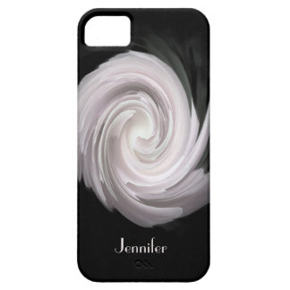 iPhone 5, iPhone 5s Case Pale Pink Rose Swirl iPhone 5 Case