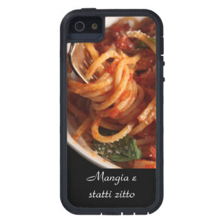 iPhone 5 Italian Mangia e statti zitto  Pasta case