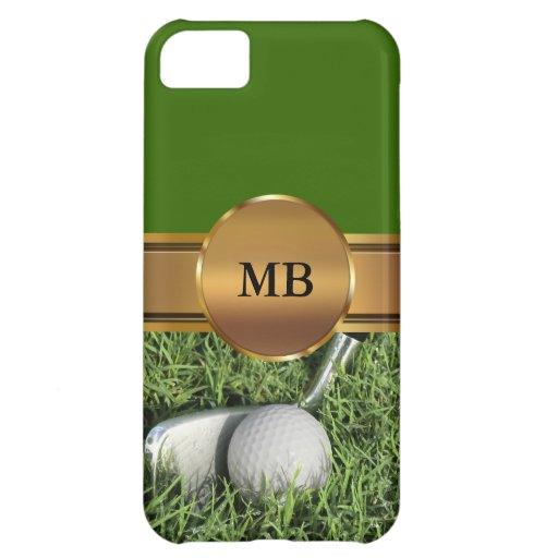 iPhone 5 Monogram Golf Cases iPhone 5C Covers