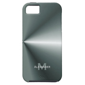 iPhone 5: Personalized : Metal Look Case