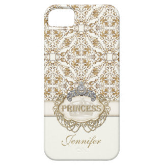 IPhone 5 Princess Jewel Bling Crown Personalized iPhone 5 Covers